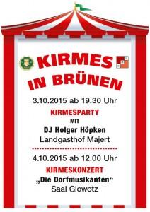 Plakat Kirmes