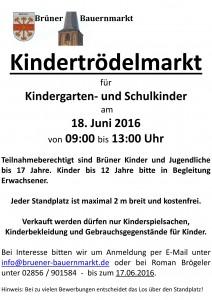 Kindertrödelmarkt_2016 - A2-Plakatvorlage