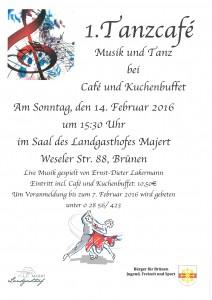 Tanzcafe Flyer